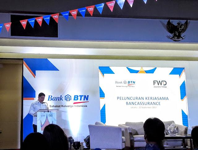 Peluncuran Bancassurance, Inovasi FWD Life Dan Bank BTN, Asuransi Yang Tepat Untuk Profesi Dan Passion Beresiko Tinggi