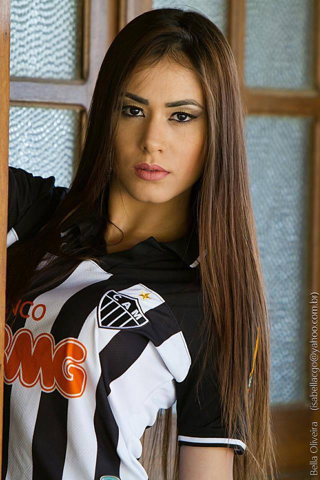 Isabella oliveira musa do atletico mg 2013 2