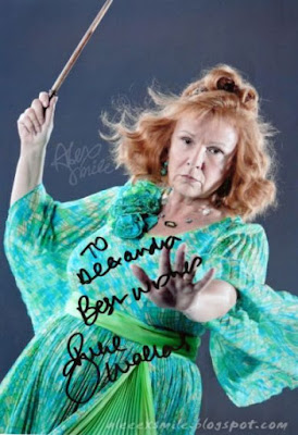 Julie Walters - Autopgraph  - Autograf Molly Weasley Harry Potter
