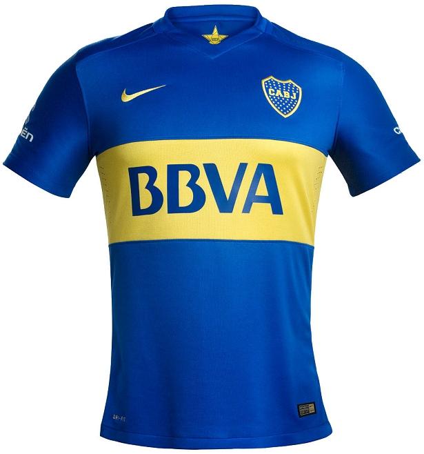 8e13f2720407a Nike divulga camisa titular do Boca Juniors - Show de Camisas