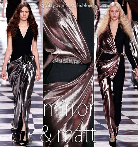 Вечерни рокли с акценти в огледално и матово метално