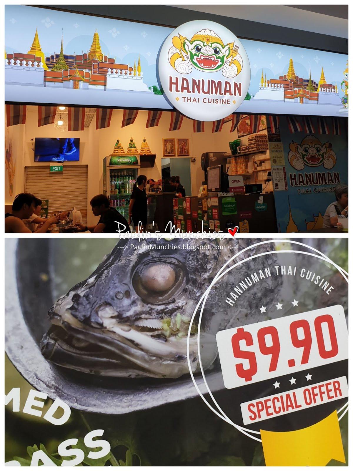 Hanuman Thai Cuisine At Toa Payoh Central Paulin S Munchies My Food Discoveries