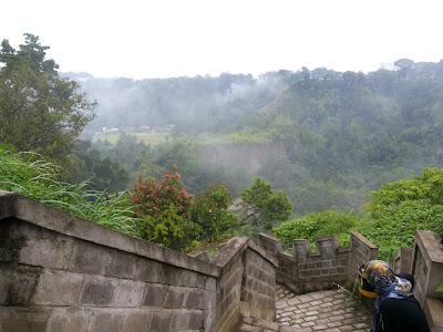 Pesona Janjang Koto Gadang, 'Tembok Raksasa' di Bukittinggi