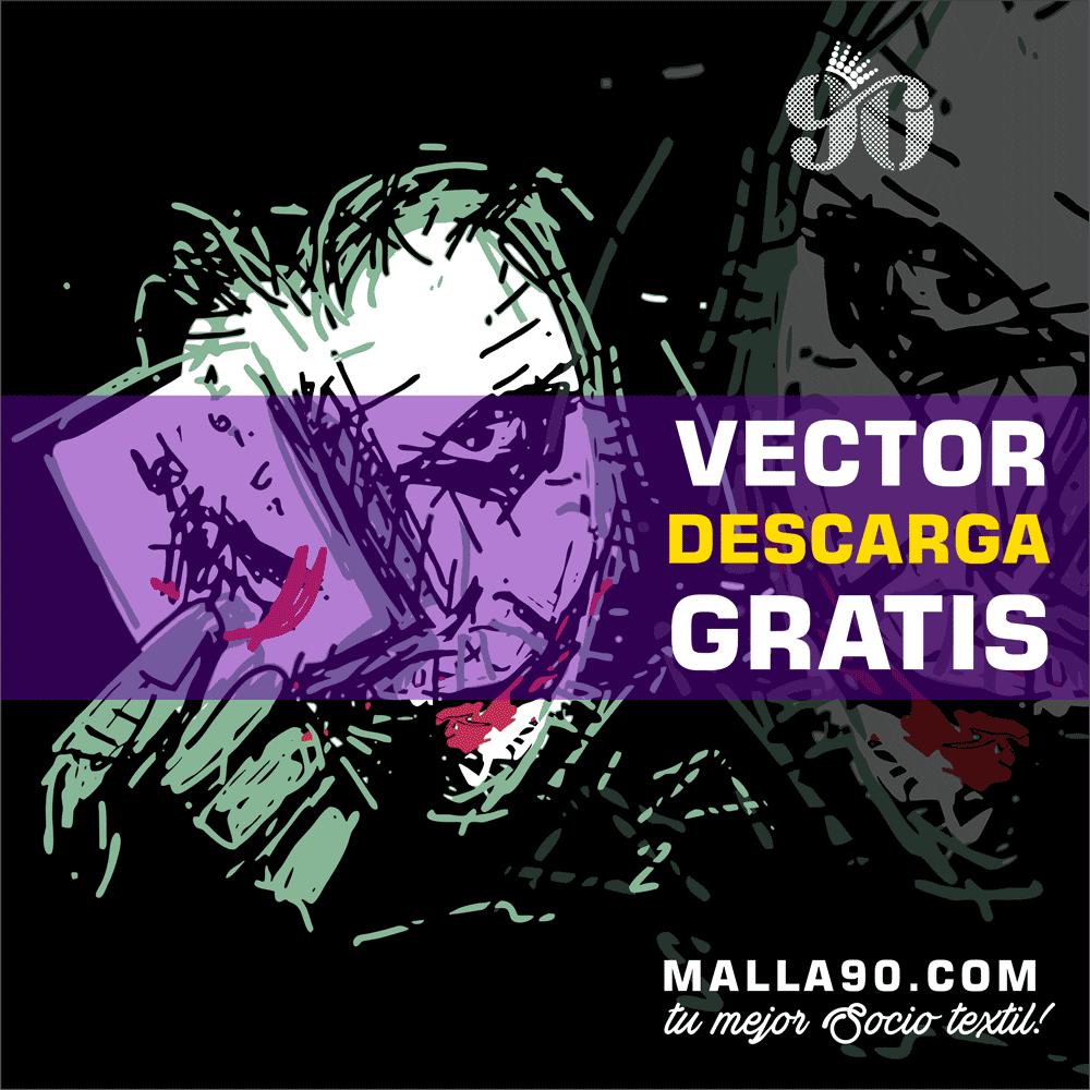 descarga vector del joker card