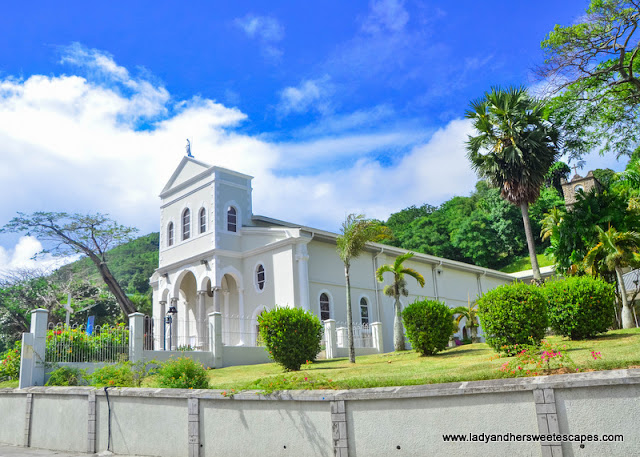 Church of the Immaculate Conception in Mahe