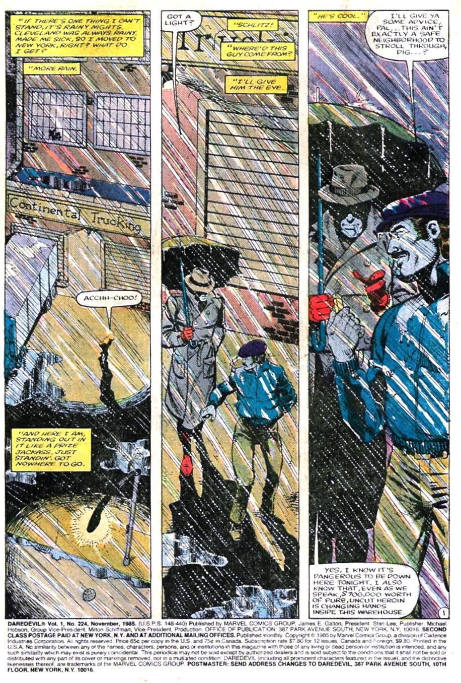 Daredevil (1964) 224 Page 1