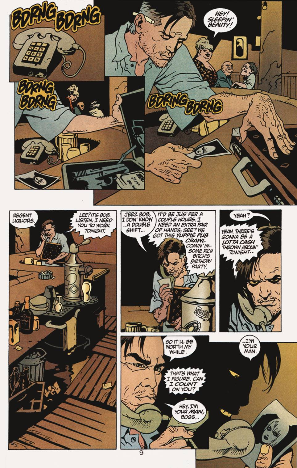 Read online 100 Bullets comic -  Issue #4 - 10