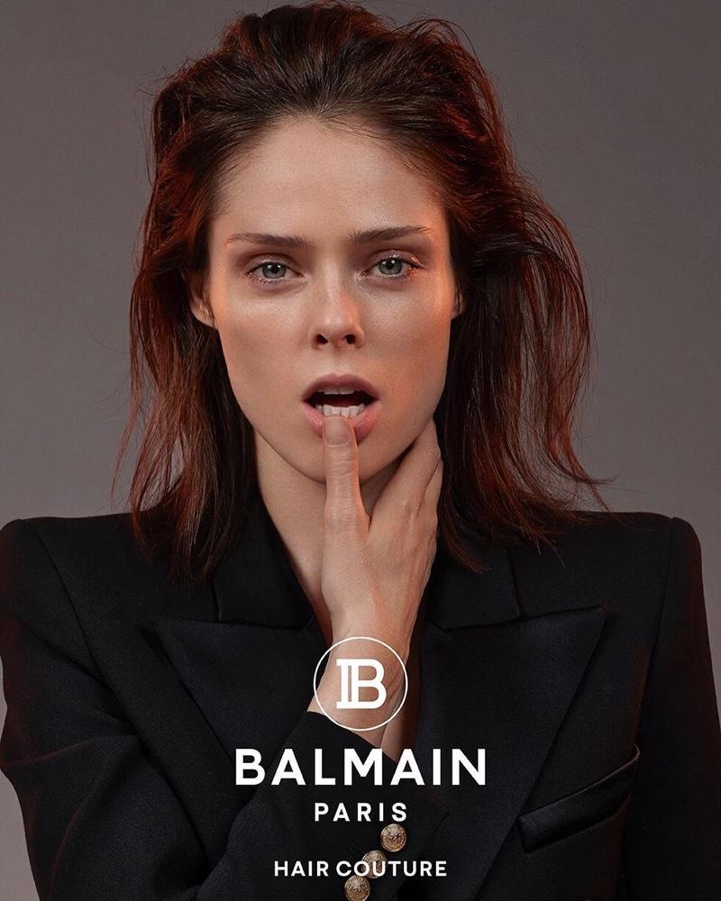 Balmain Hair Couture Spring/Summer 2019 Campaign featuring Coco Rocha