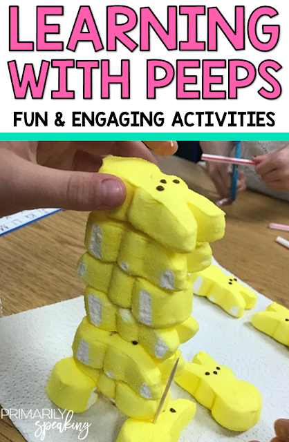 Using Peeps for STEM and Writing