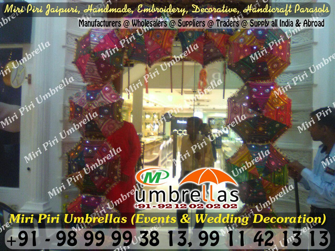 Wedding umbrellas parasols manufacturers suppliers wholesalers rajasthani umbrella manufacturers suppliers in delhi india rajasthan jaipur ahmedabad gujarat junglespirit Choice Image