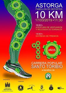 Carrera 10 Km Santo Toribio 2019