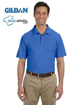 Gildan G948 Men's Dryblend Pique Sport Shirt