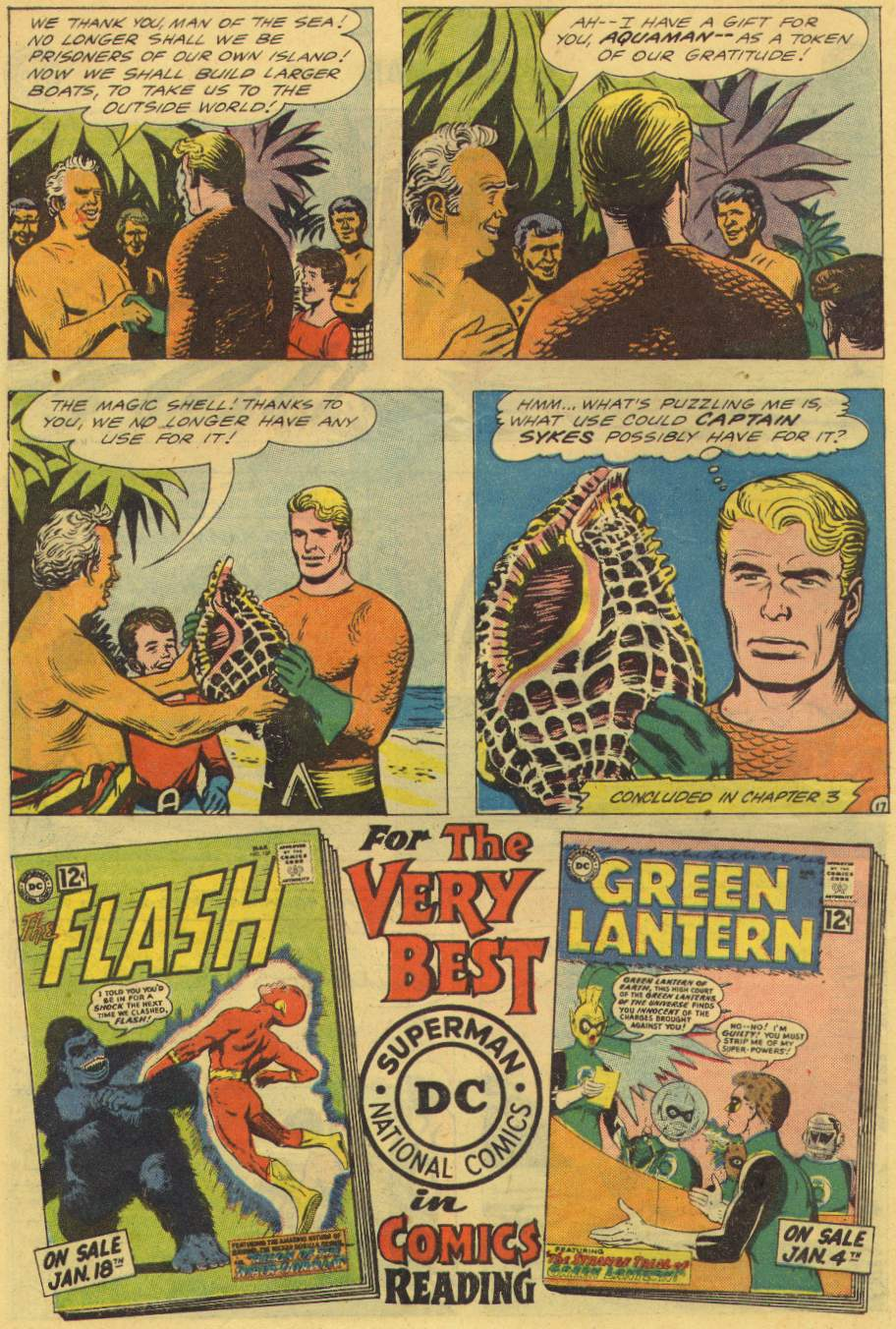 Read online Aquaman (1962) comic -  Issue #2 - 22