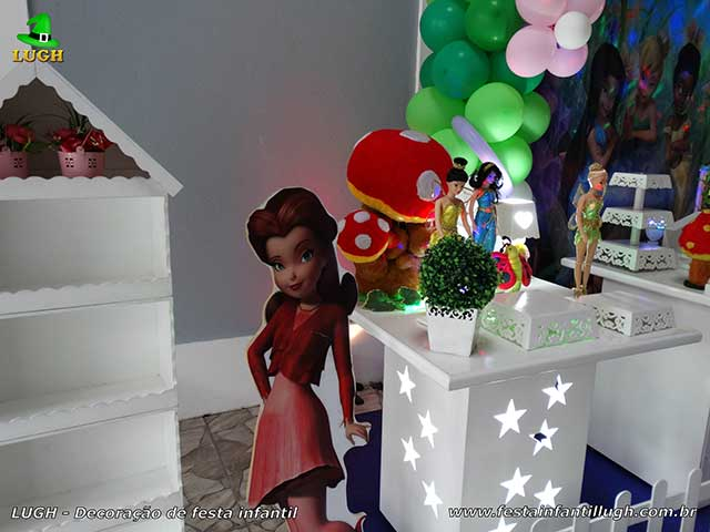 Decoração de festa Tinker Bell (Sininho) - Aniversário infantil