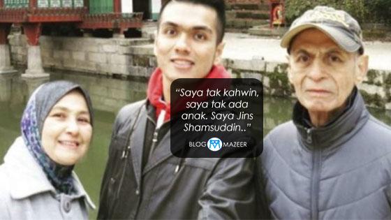 Respon Jins Shamsuddin Apabila Ditanyakan Mengenai Dirinya Buat Ramai Sebak