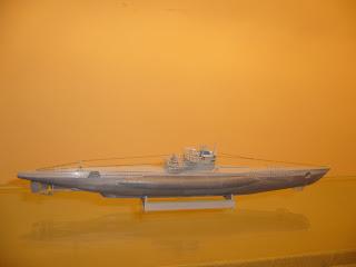 scale model submarine u-boot VII-C