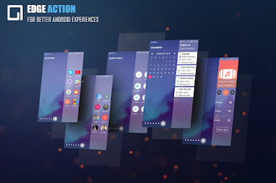Sidebar Edge Screen S8 Launcher Edge Action Pro APK