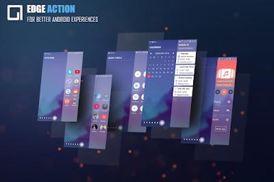 Sidebar Edge Screen S8 Launcher Edge Action Pro APK