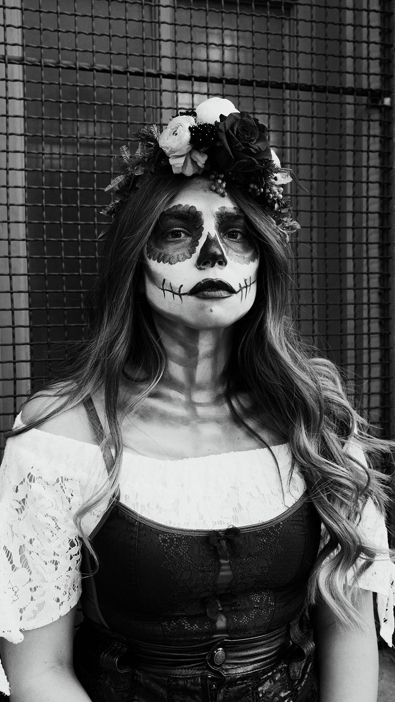 dia de los muertos, day of the dead, makeup