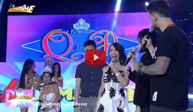 Watch It's Showtime Miss Q and A #ShowtimeFEBuLousThursday February 8, 2018