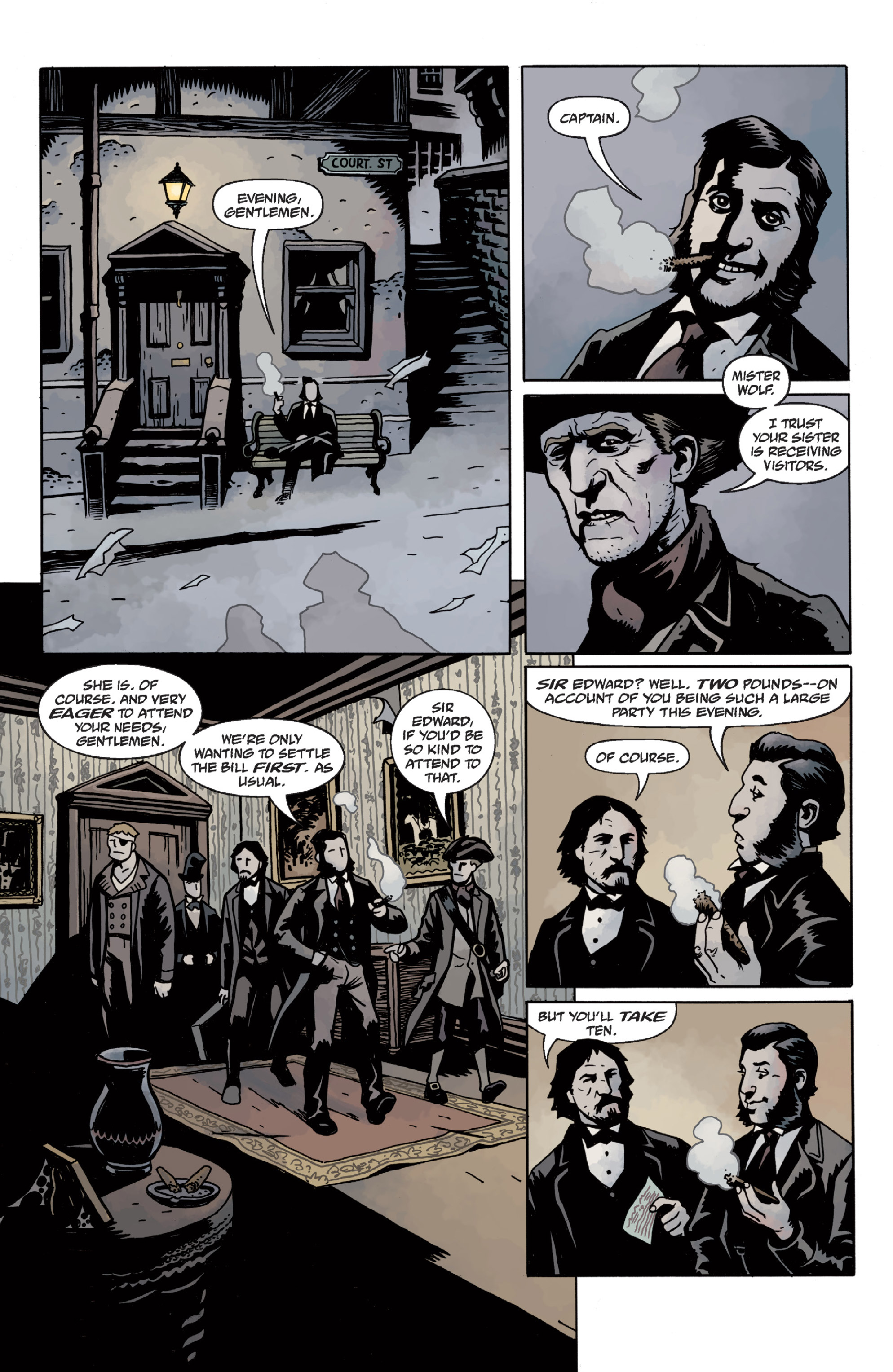 Read online Sir Edward Grey, Witchfinder: In the Service of Angels comic -  Issue # TPB - 40