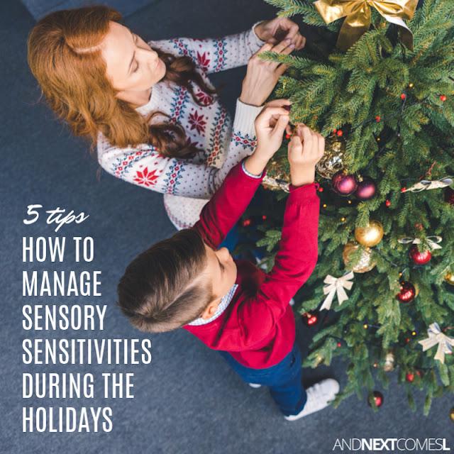 Sensory friendly holiday tips for autism families