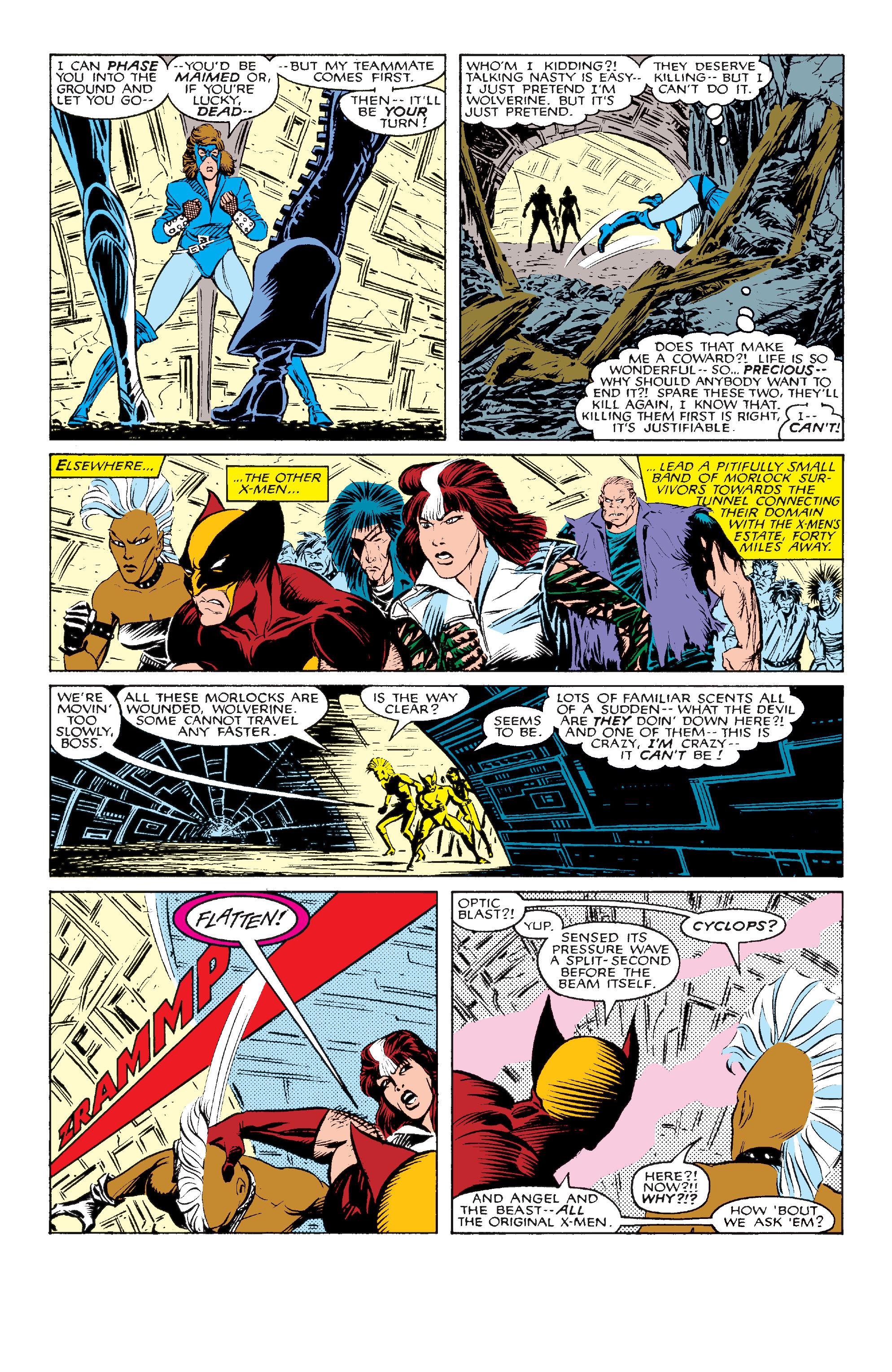 Read online Uncanny X-Men (1963) comic -  Issue #211 - 18