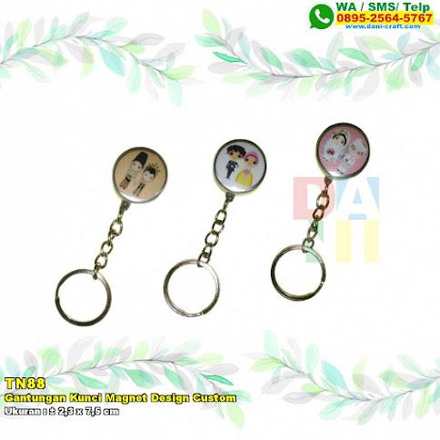 Gantungan Kunci Magnet Design Custom