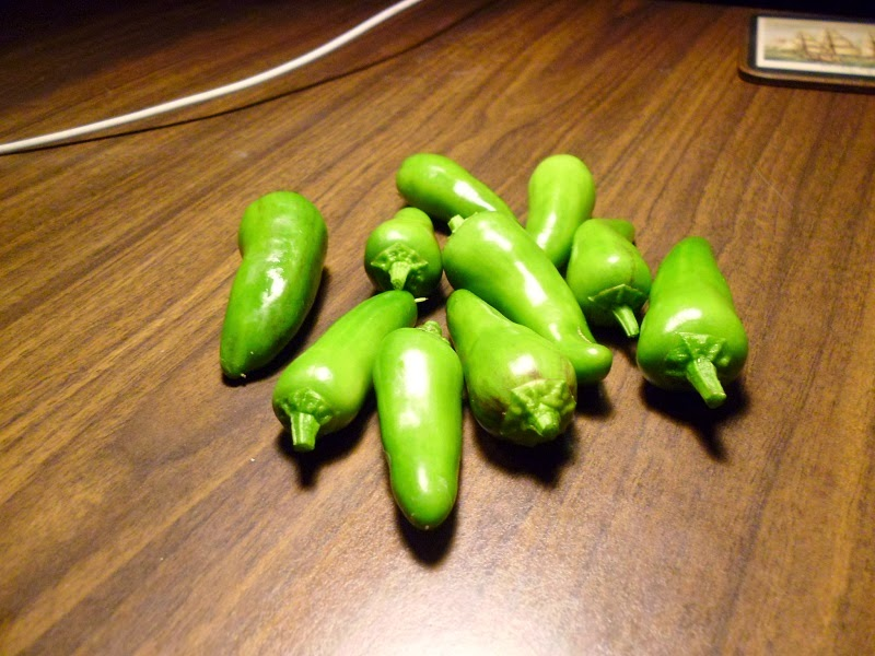 Fresno pepper harvest green