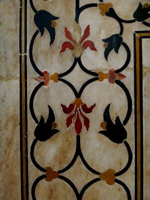 Marbel didalam Musoleum Mumtaz Mahal