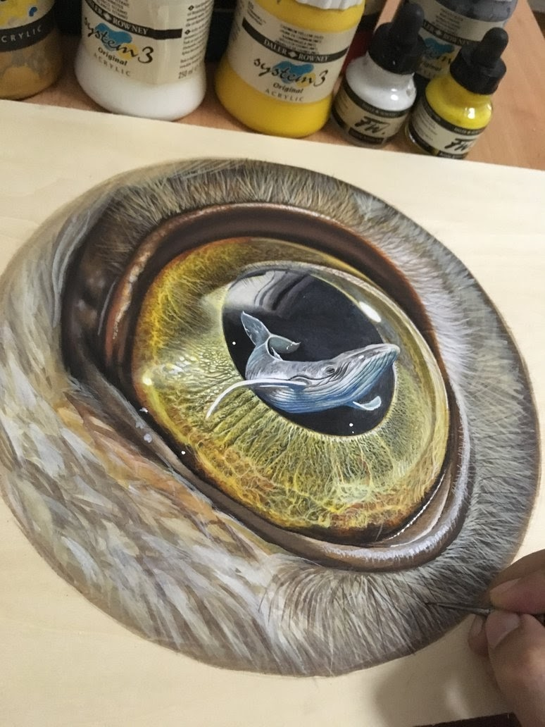 02-Eye-The-Beholder-Ivan-Hoo-Animals-Translated-to-Realistic-Drawings-www-designstack-co