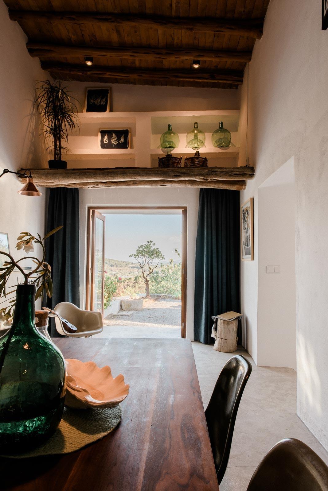 Una piccola casa di campagna a ibiza for Piccola casa di campagna francese