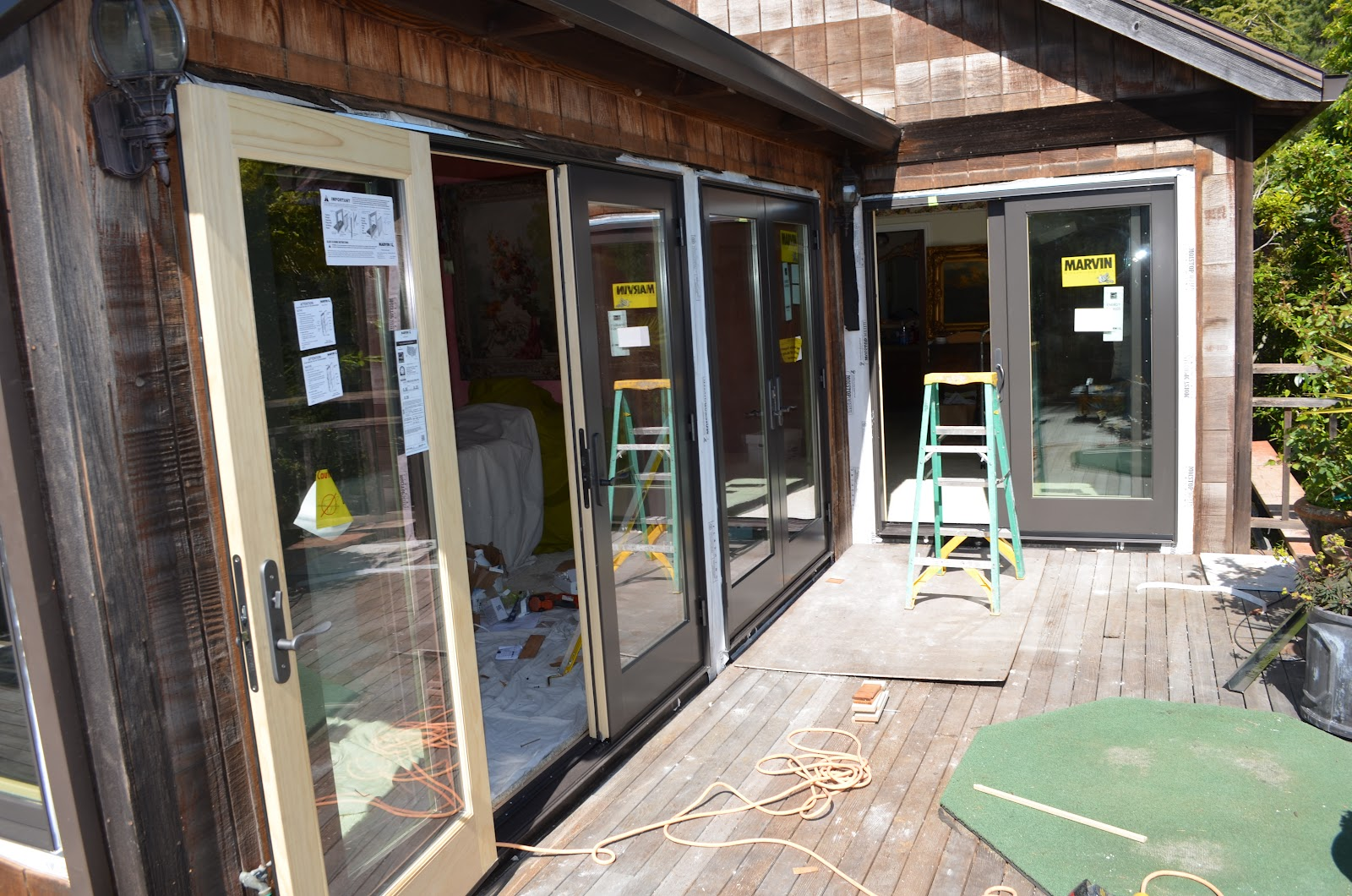 Marvin clad ultimate sliding french door