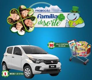 Promoção Mercados Redefort 2017 Família de Sorte