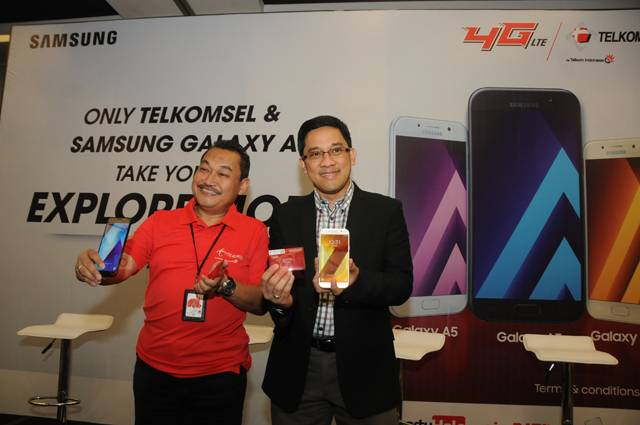 Bundling Telkomsel 14 GB data Di Samsung Galaxy A Series 2017
