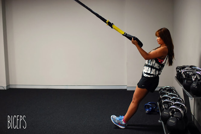 Fitness First Gym Parramatta Biceps TRX