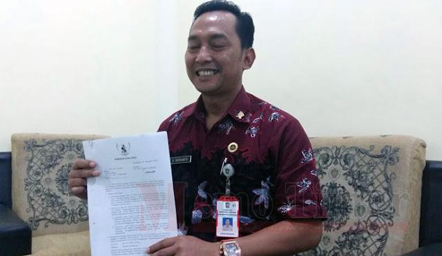 Kepala Bagian Adminitrasi Pemerintahan Setda Pemkab Lumajang Agus Budianto, S.Stp.