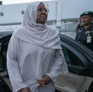 nigerian police force 2 prado jeeps aisha buhari