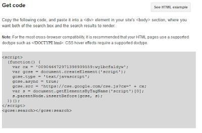 memasang cse google