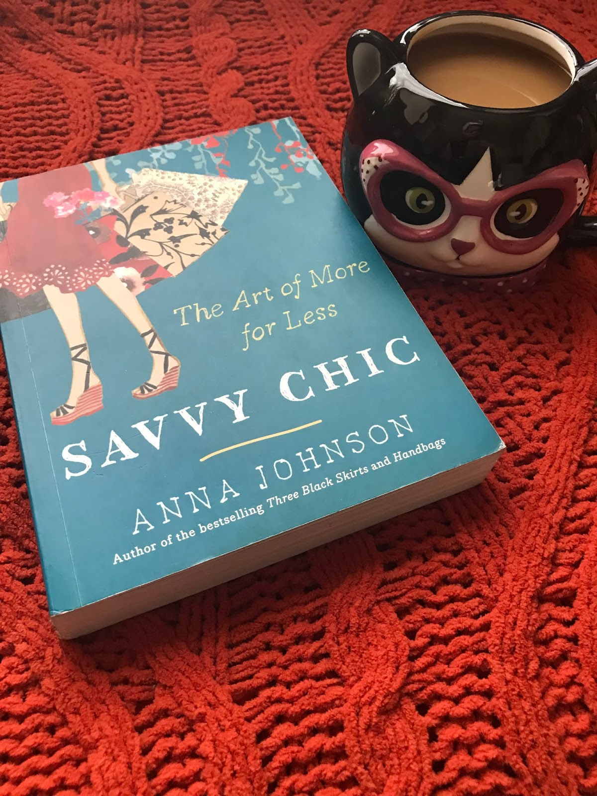 Image: Book and cat coffee cup. Book is by Ann Johnson. Bought by Tangie Bell and seen first on Bits and Babbles blog.The Joyful List:5 Savvy Life-Changing Things I Am Starting Right Now!