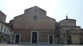 Duomo y Baptisterio de San Juan Baptista, Padova.