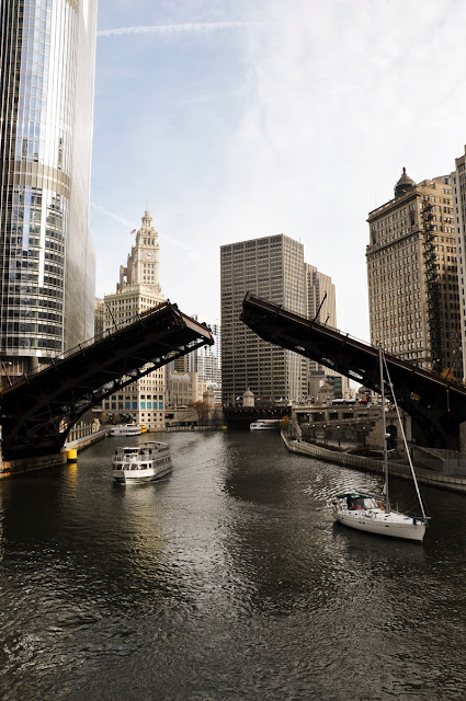 Opening Bridge Chicago