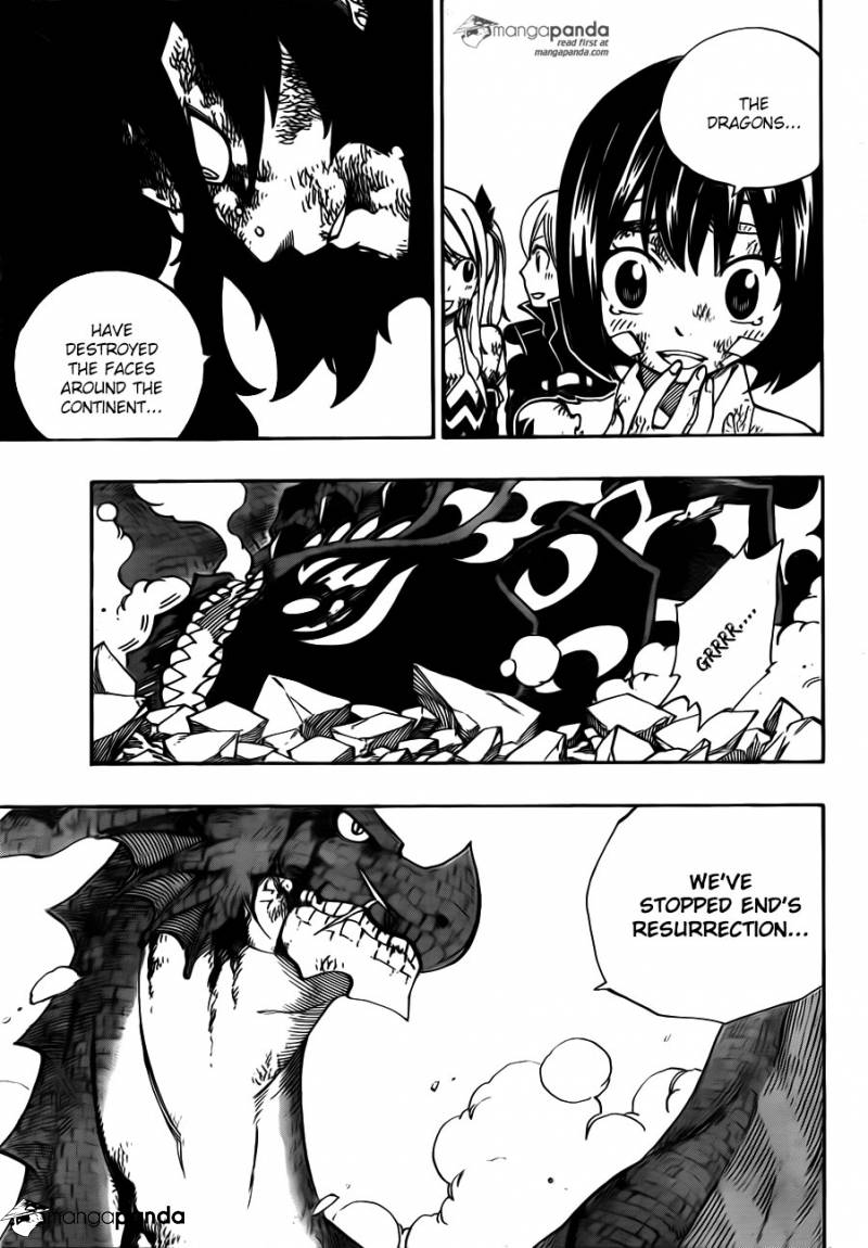 Fairy Tail Ch 413: The Book of END