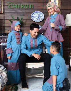 Baju Keluarga Muslim Modern Terbaru