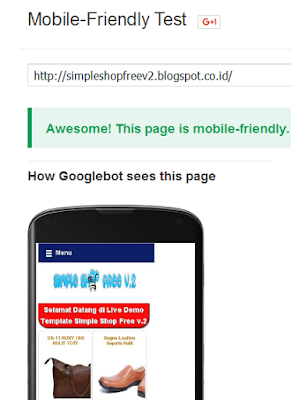 test mobile friendly