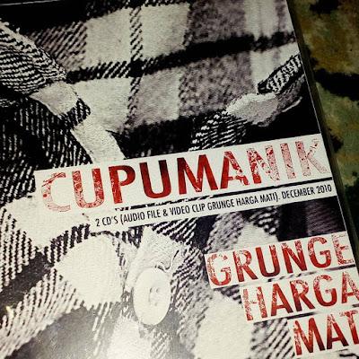 cd double disc cupumanik promo album