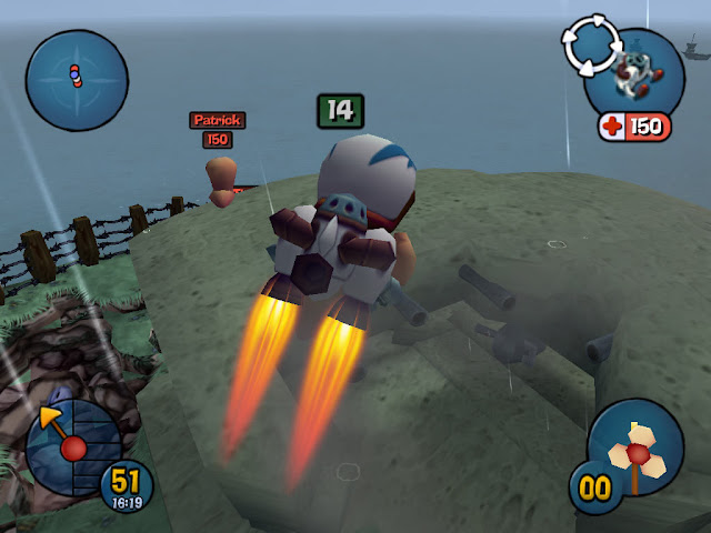Worm 3D PC Free Download Gameplay 1
