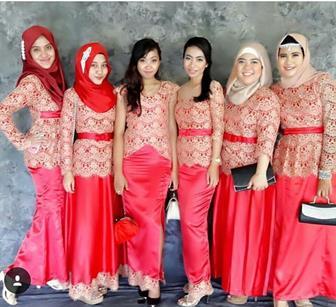 Model Baju Kebaya Untuk Seragam Pernikahan Keluarga