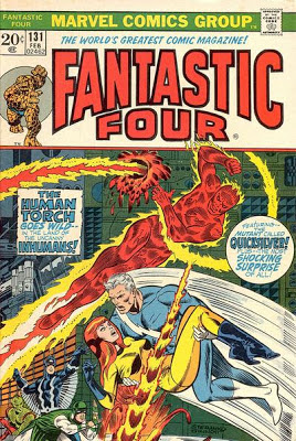 Fantastic Four #131, Quicksilver and Crystal