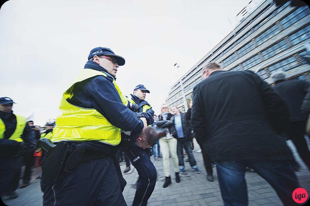 aresztowani podczas wrocłąwskiego marszu równości 2016